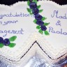 Engagement Red Velvet Cake