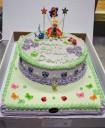 Thinkerbell custom cake