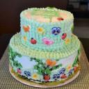 Chocolate cake w/Strawberry mousse