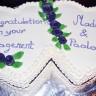 Engagement Red Velvet Cake