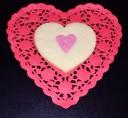 Valentine's Cookies double hearts