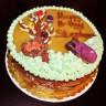 Marble Chocolate Moose Cake
