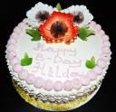 Red Velvet Cake w Strawberry Mousse
